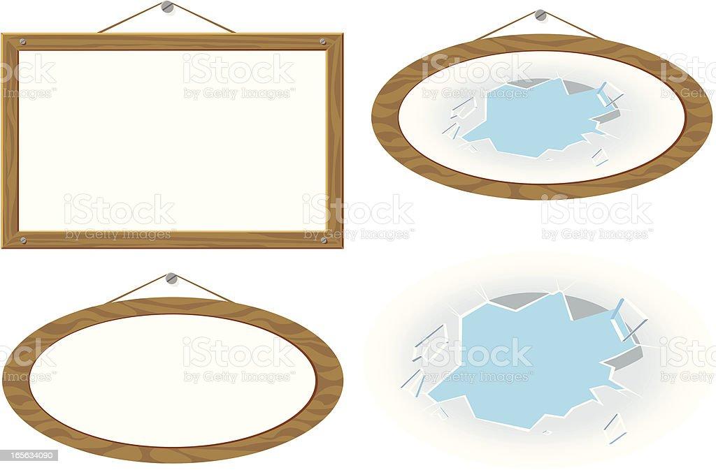 frames vector art illustration