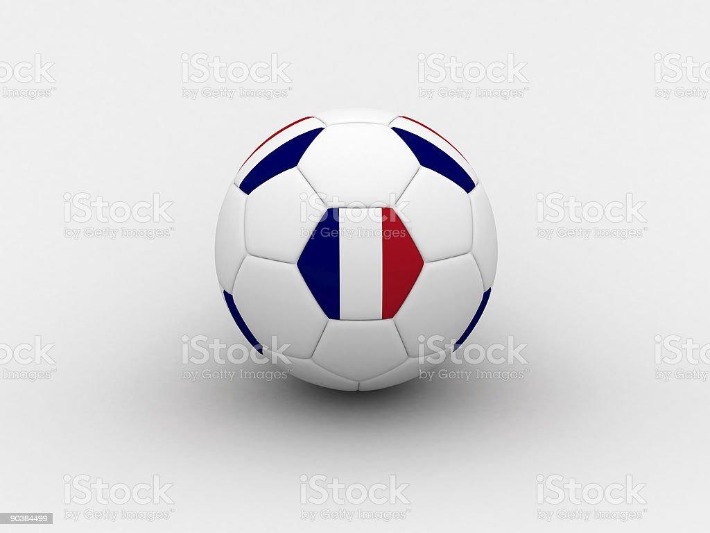 France soccer ball royalty-free stock vector art