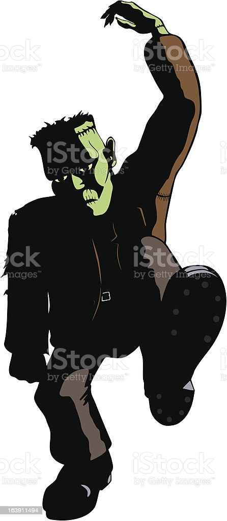 Frankenstein's Monster Dances : Istockphoto