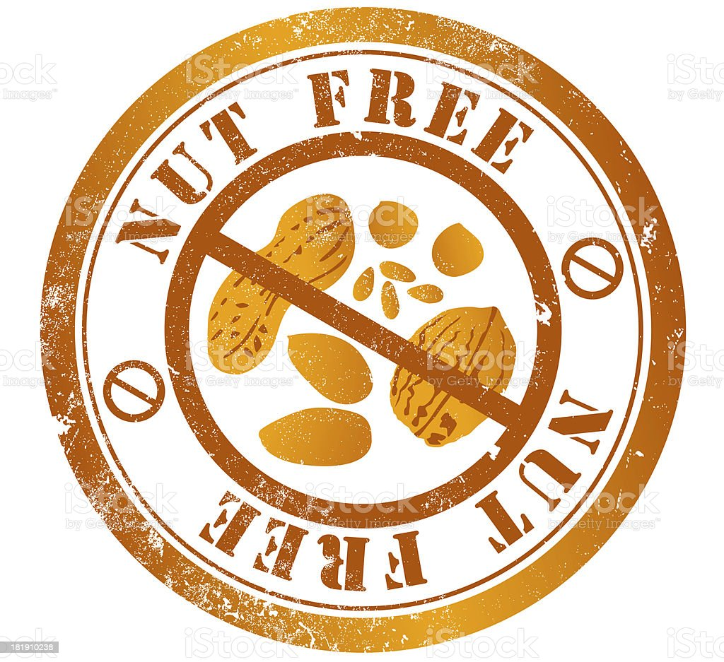 Free nut stamp free to use nnnn vector art illustration