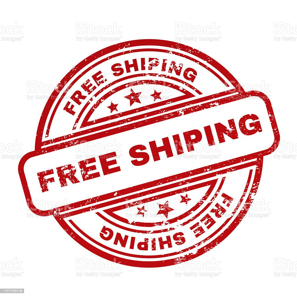 Free Shiping royalty-free stock vector art