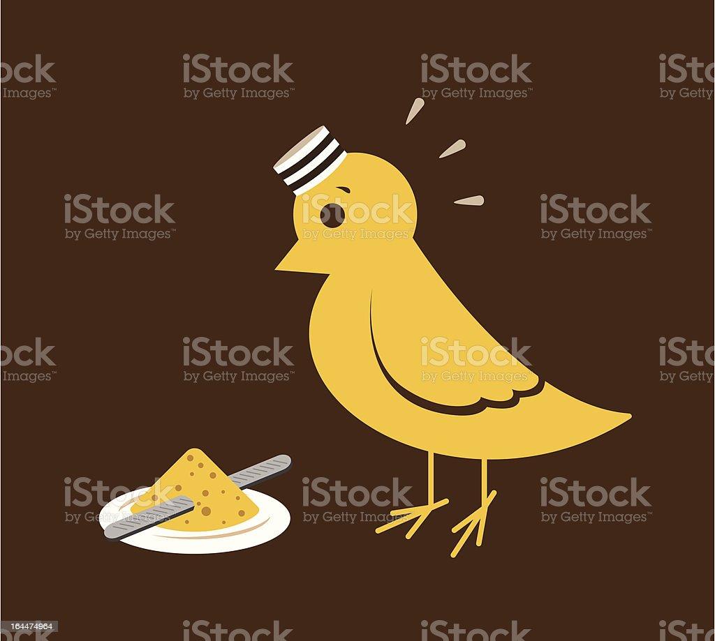 Freebird? royalty-free stock vector art