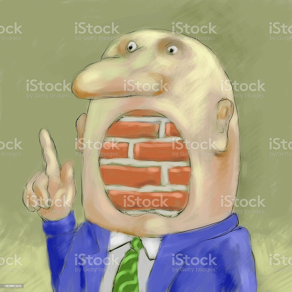 freedom of speech royalty-free stock vector art