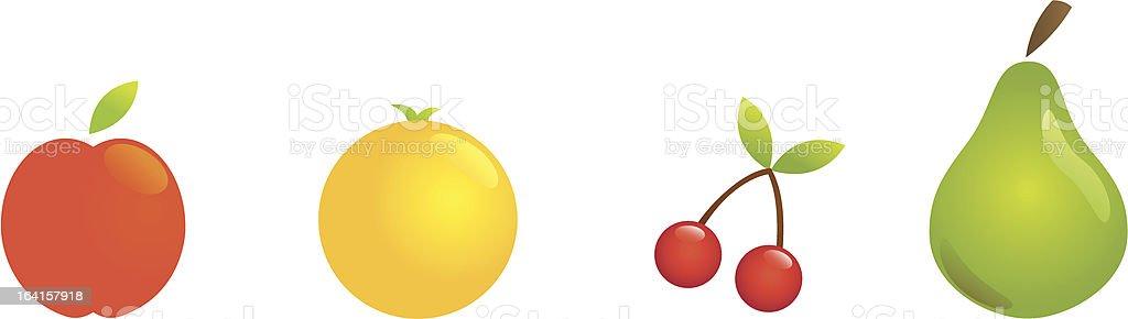 fruit1 vector art illustration