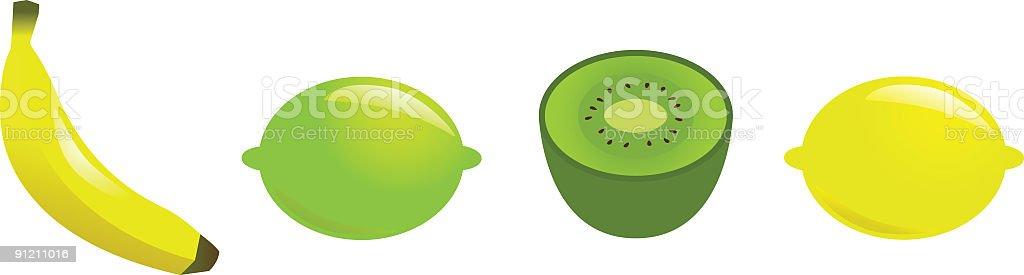 fruit2 vector art illustration