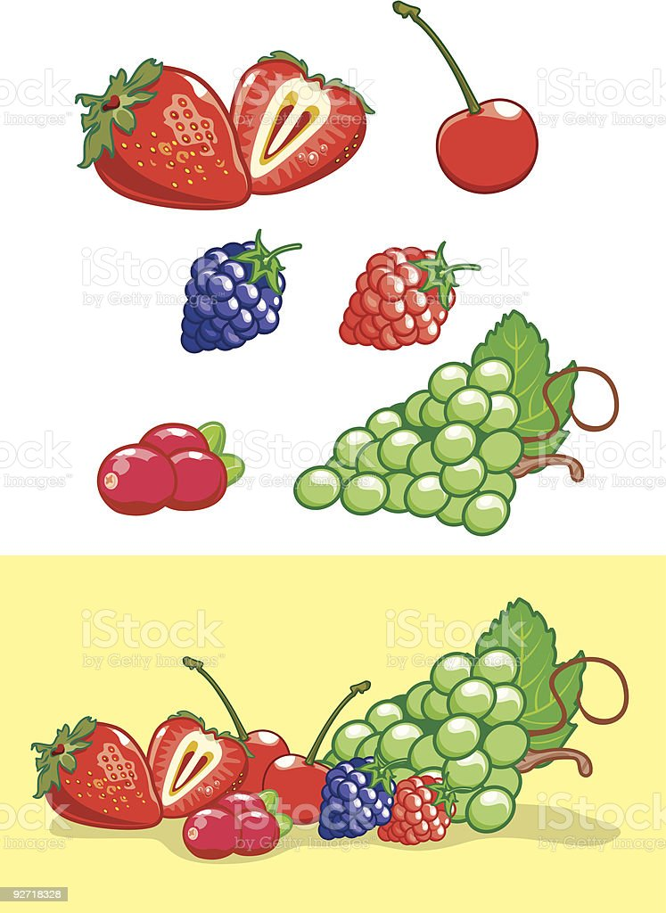 Fruitticious royalty-free stock vector art