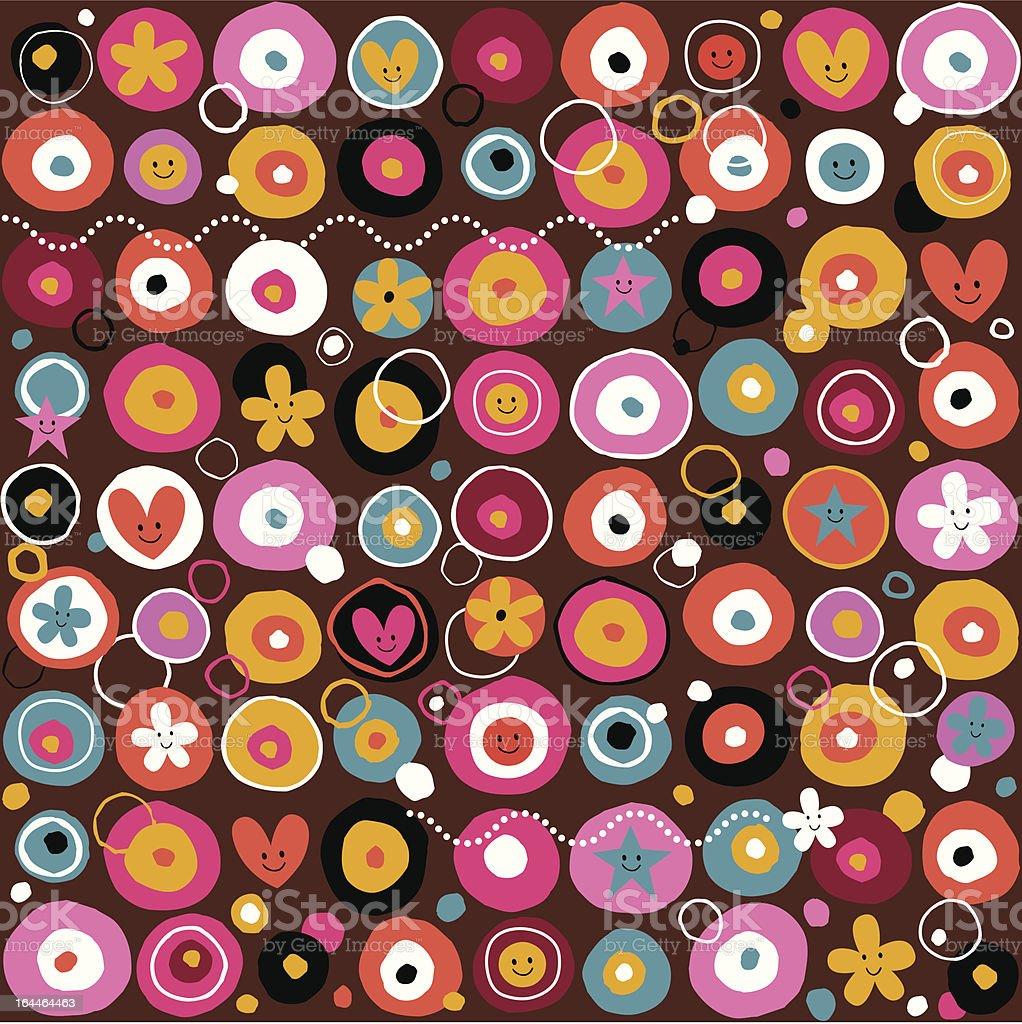 fun pattern royalty-free stock vector art