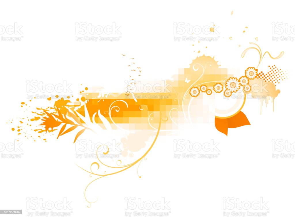 funky abstract background royalty-free stock vector art