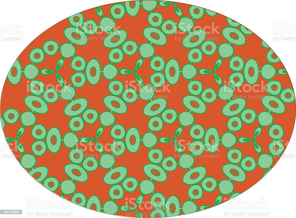 Funky Microbes - Vector pattern royalty-free stock vector art