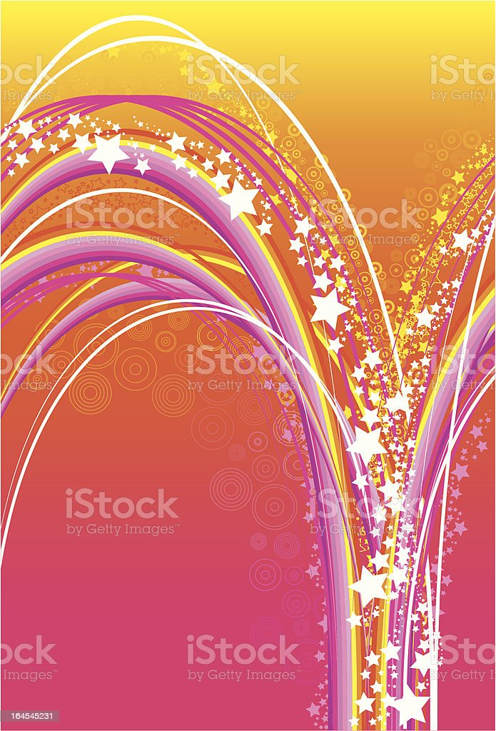 Funky party background royalty-free stock vector art