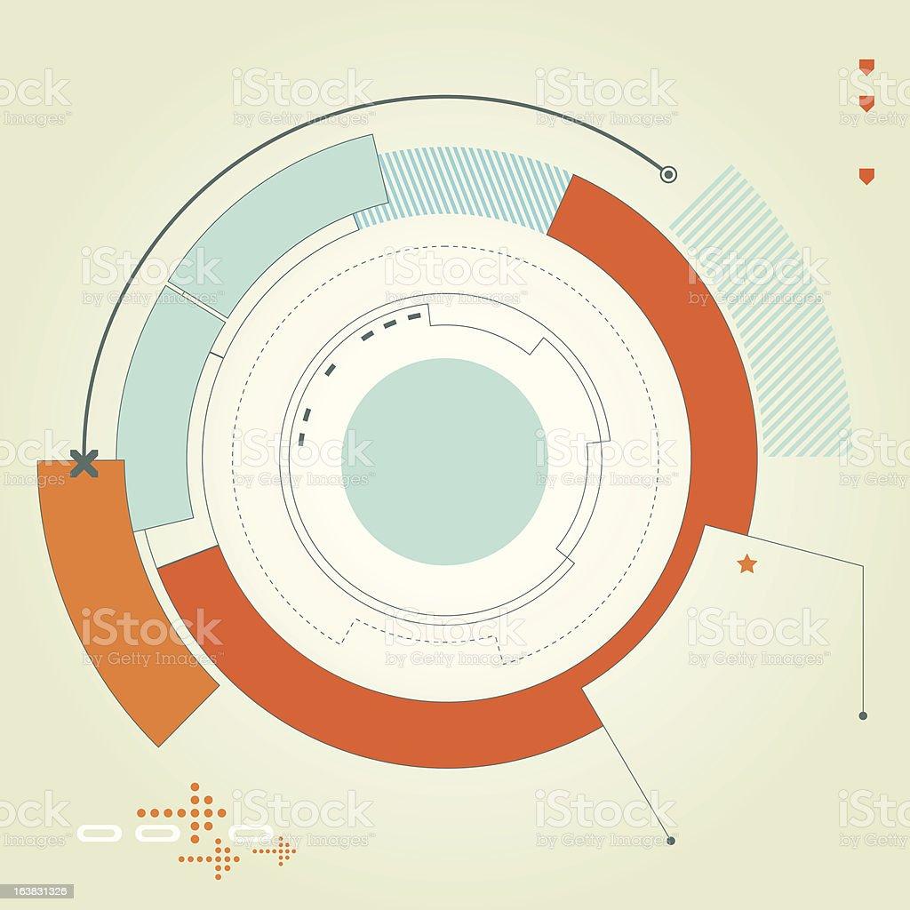Futuristic Vector Illustration vector art illustration