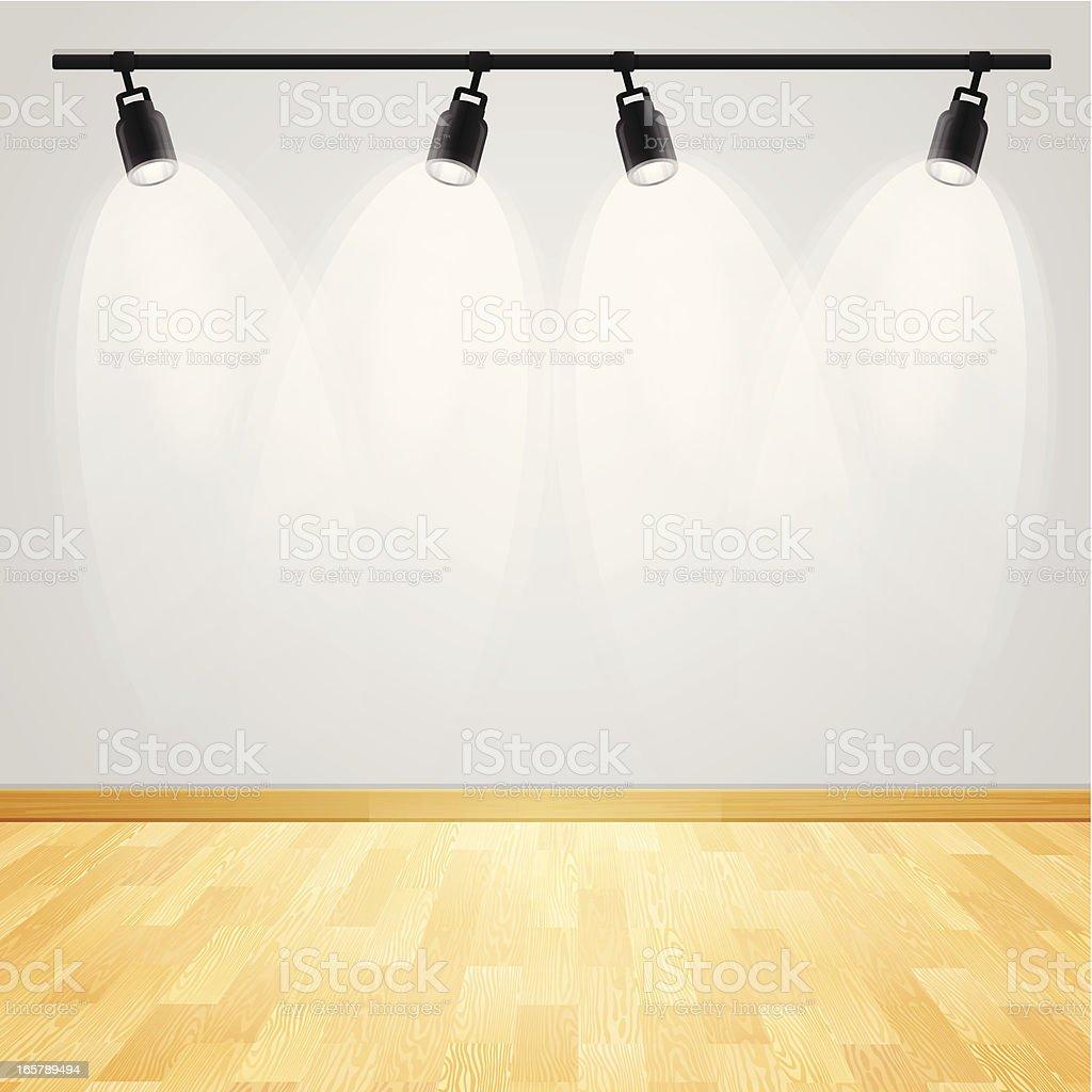 Gallery Display vector art illustration