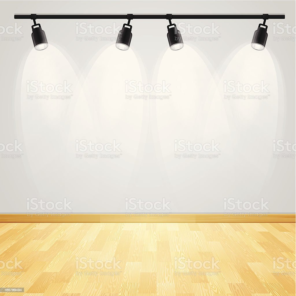 Gallery Display vector art illustration