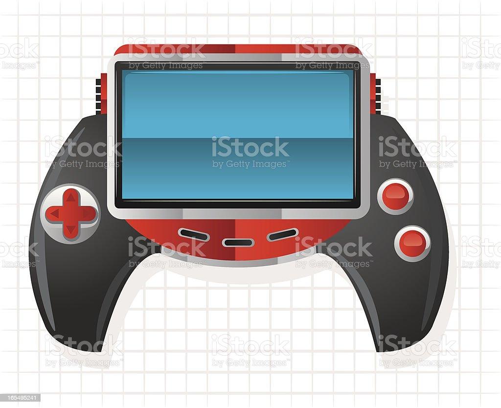 game controler royalty-free stock vector art