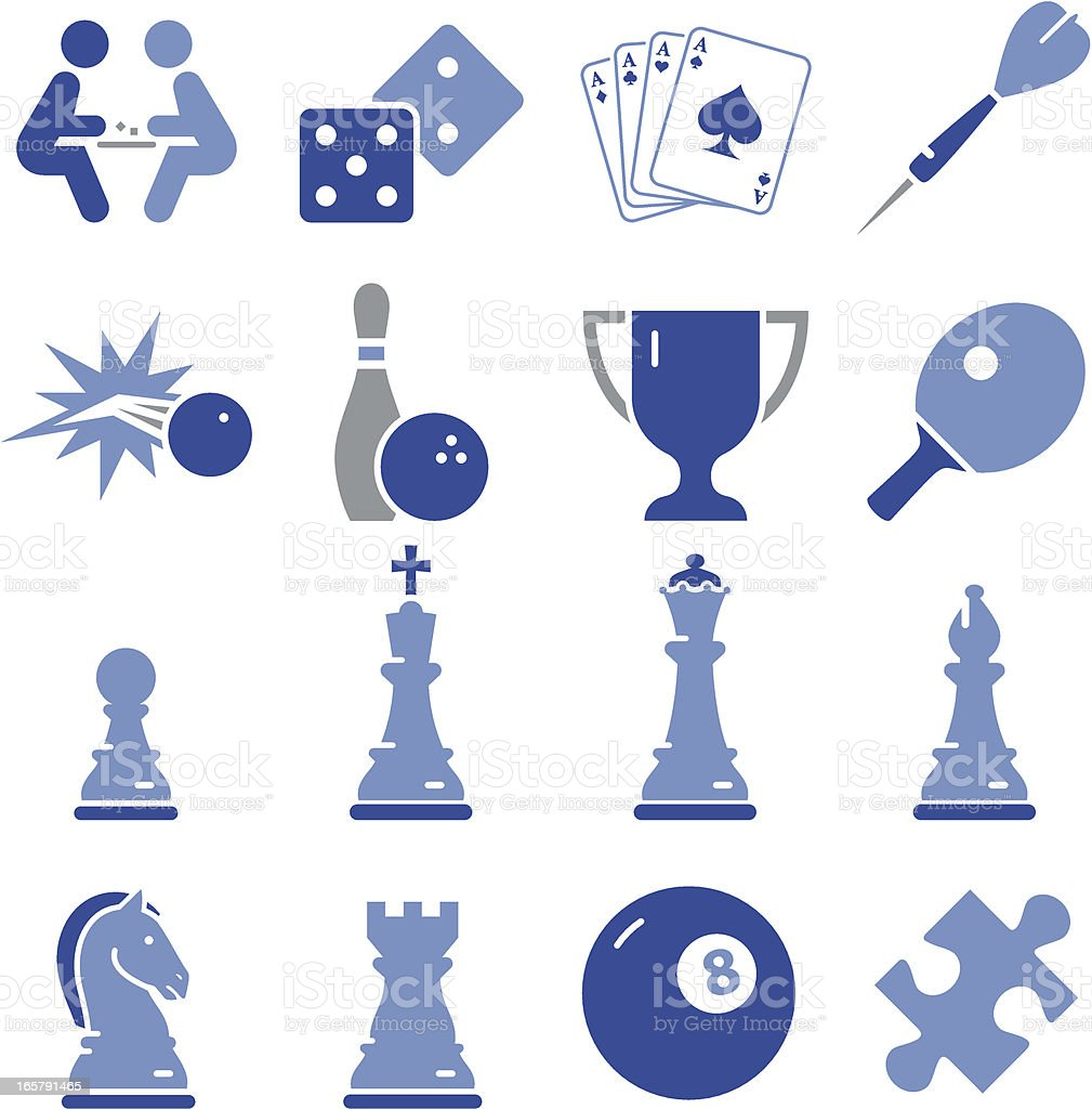 Game Icons - Pro Series royalty-free stock vector art