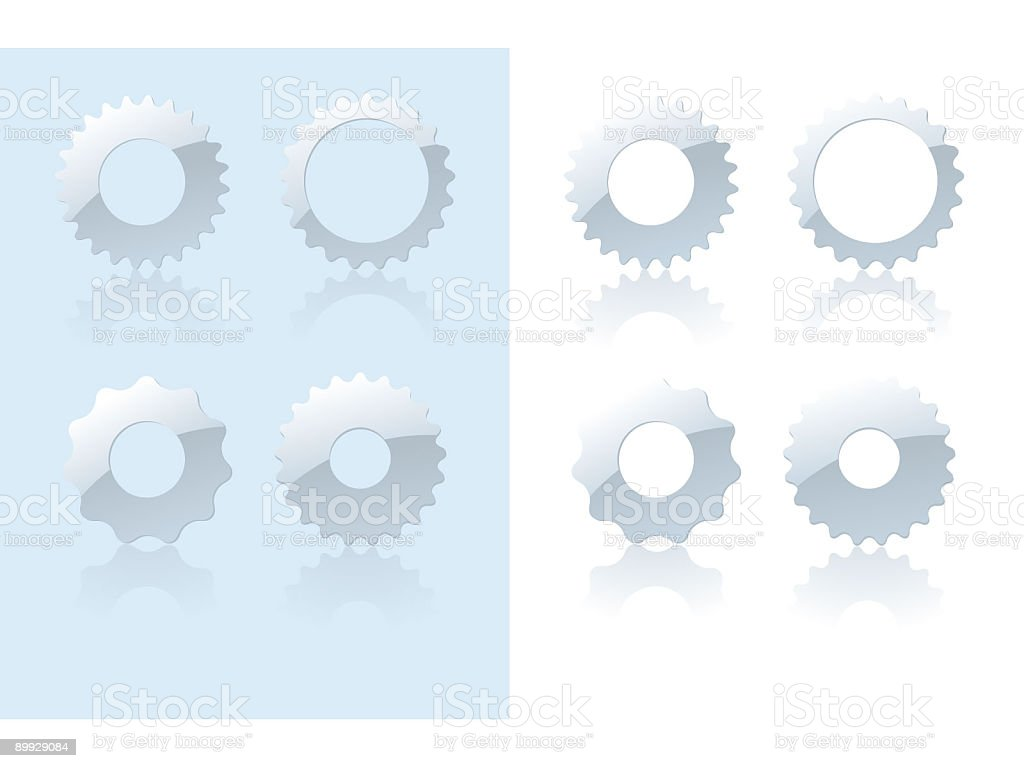 Gears (Vector) royalty-free stock vector art