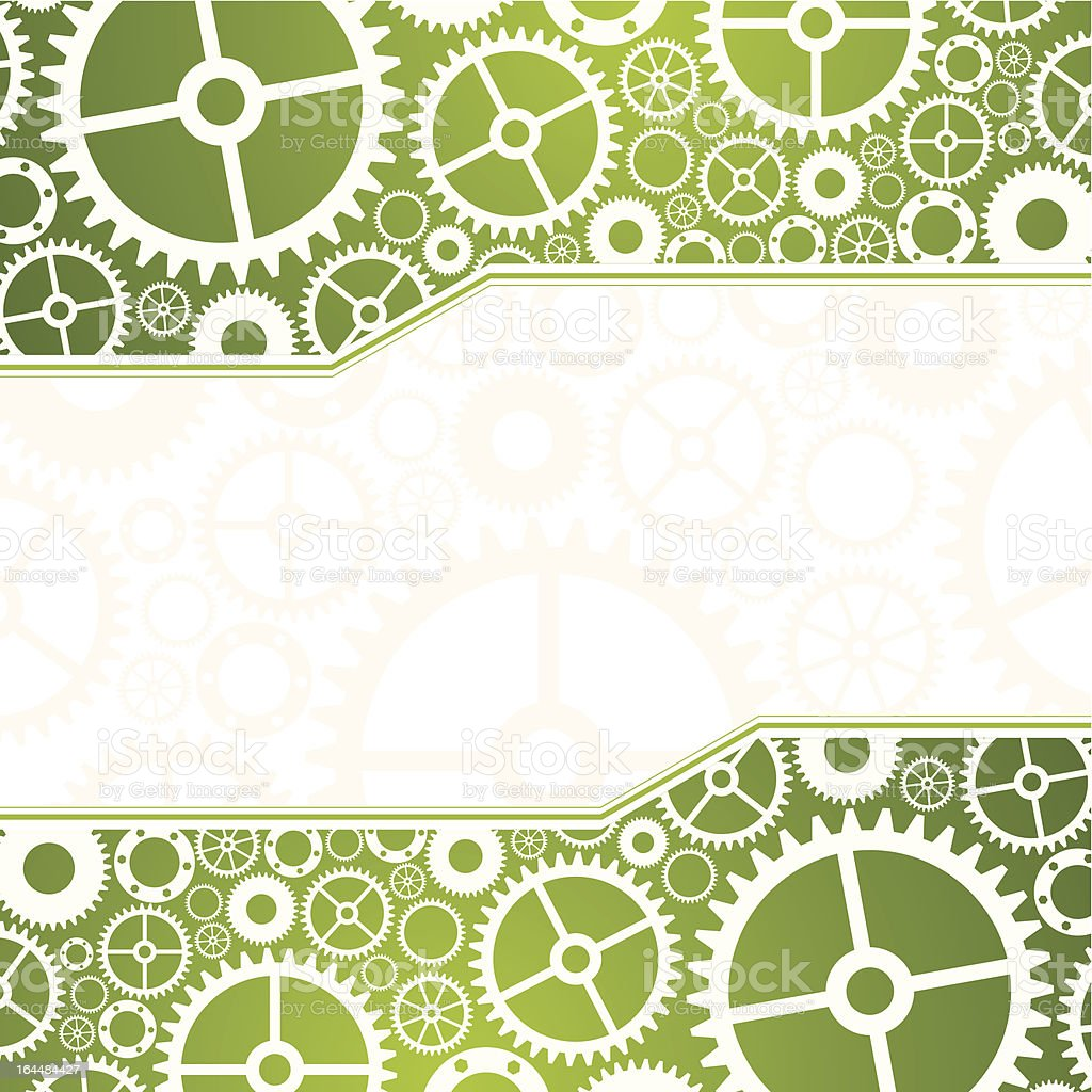Gears vector background royalty-free stock vector art
