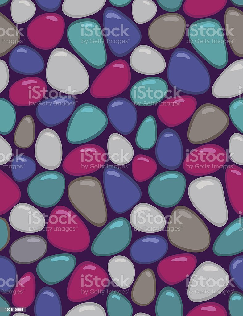 Gems - seamless pattern royalty-free stock vector art