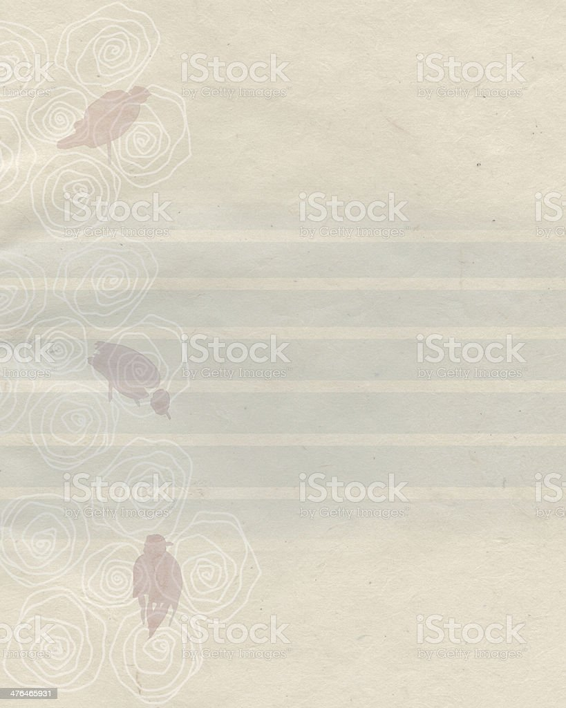 gentle retro background royalty-free stock vector art