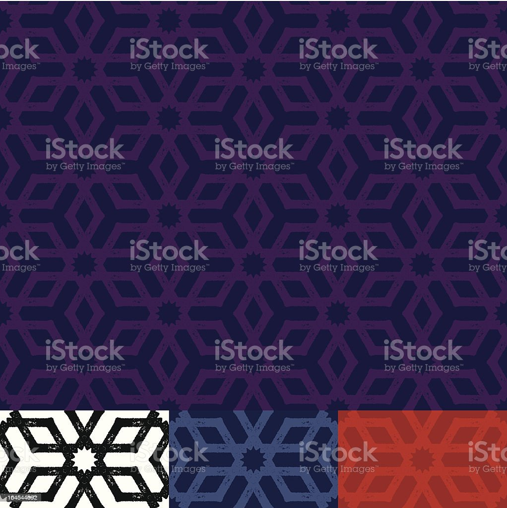 Geometric Grunge Wallpaper royalty-free stock vector art