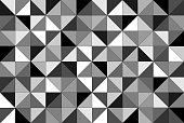 Geometric Pattern Black And White