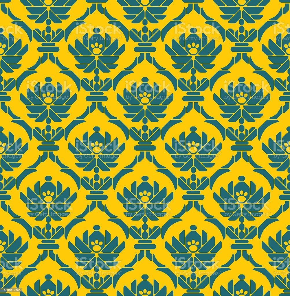 geometrical wallpaper royalty-free stock vector art