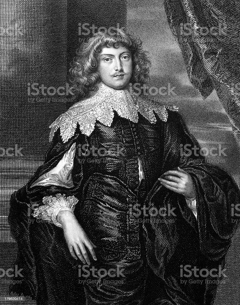 George Digby, 2nd Earl of Bristol royalty-free stock vector art