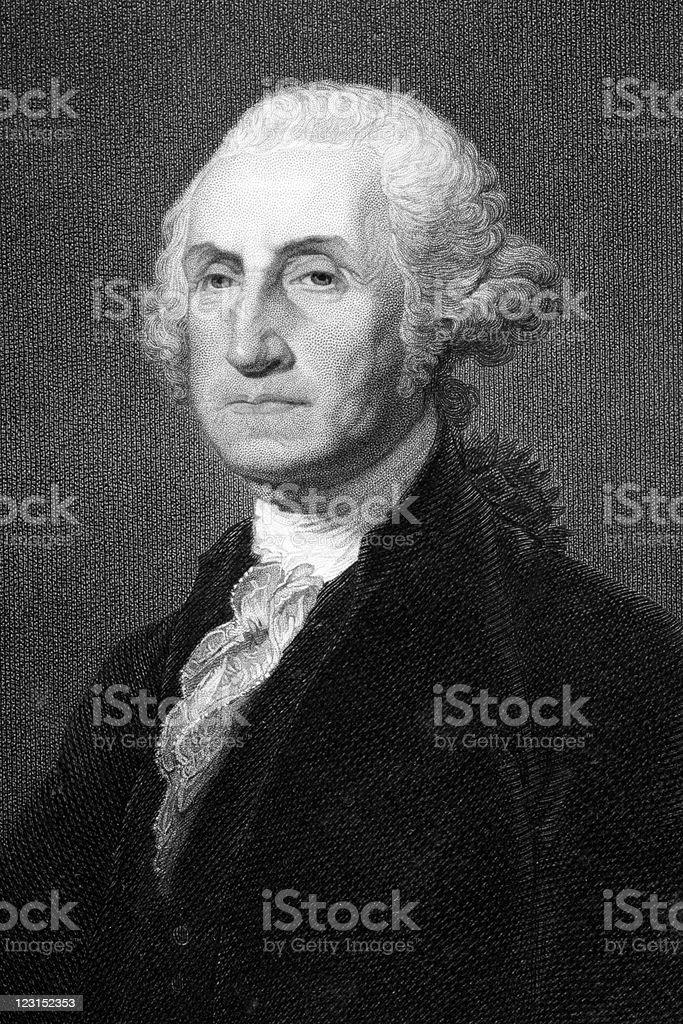 George Washington royalty-free stock vector art