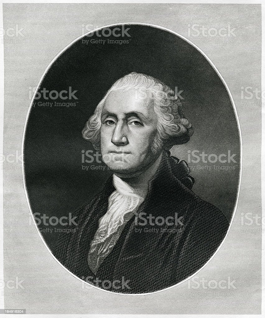 George Washington vector art illustration