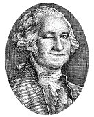 George Washington Smiles and Winks From His Picture On Money