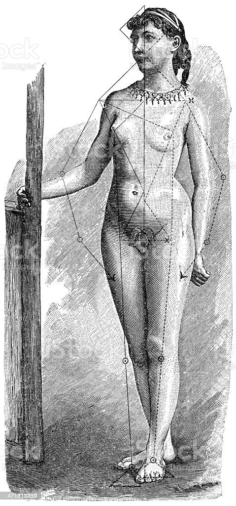 german vector art illustration