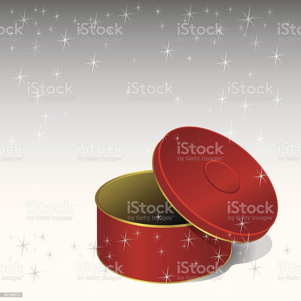 Gift Box (vector + XXL jpg in ZIP folder) royalty-free stock vector art