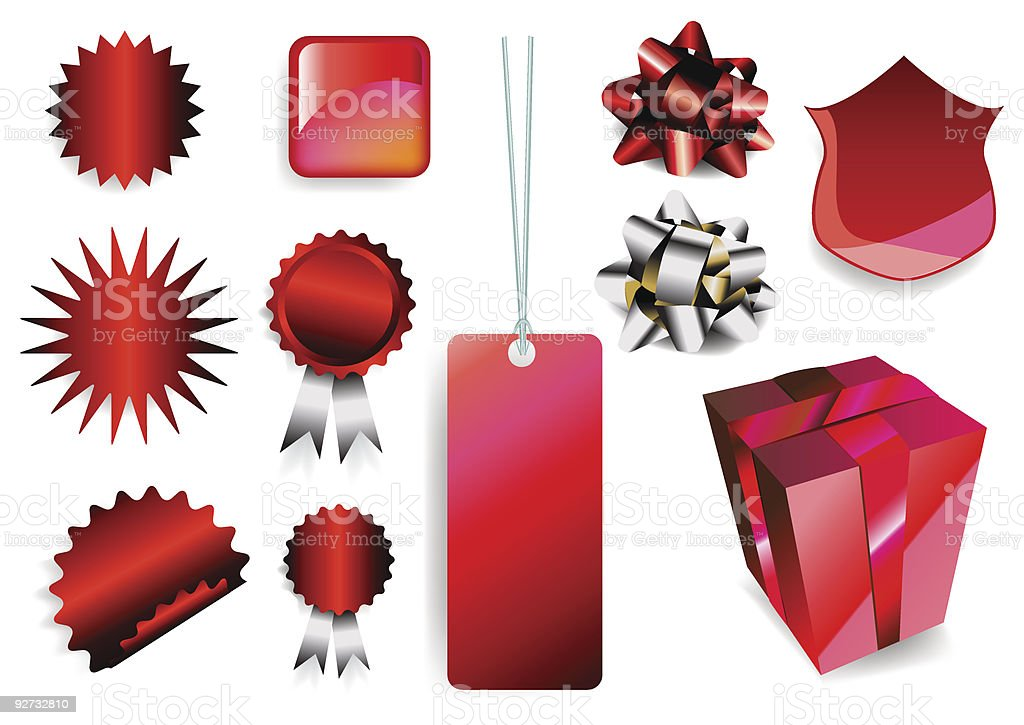 gift set royalty-free stock vector art
