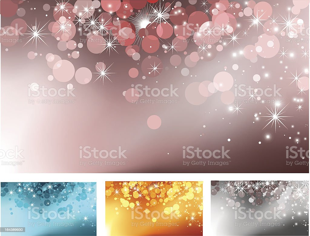 Glamour red-grey background with particles royalty-free stock vector art