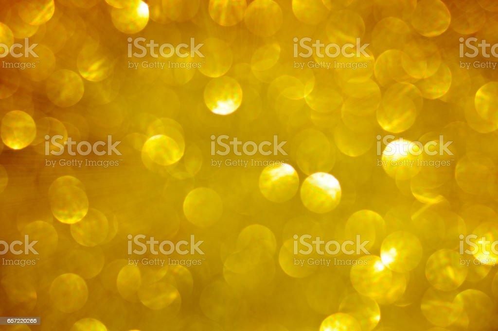 Glittery gold Christmas background. vector art illustration
