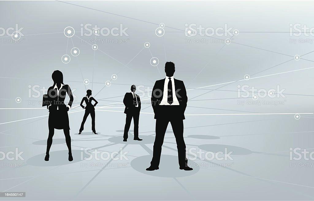Global Team royalty-free stock vector art