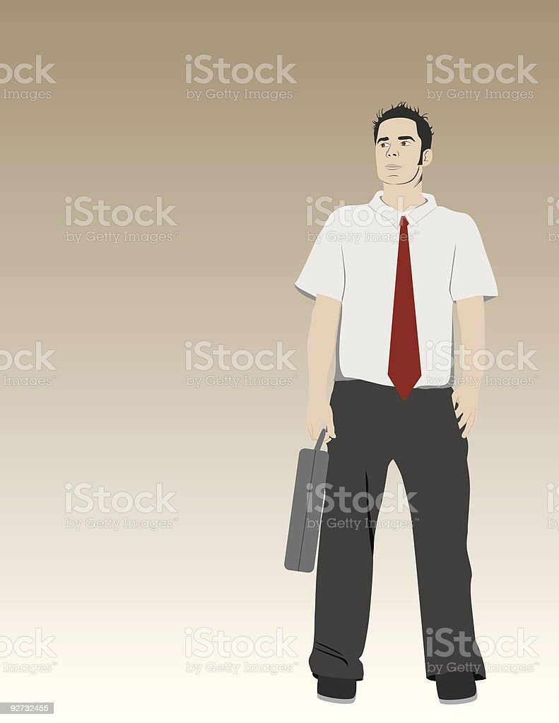 Go to Work! royalty-free stock vector art