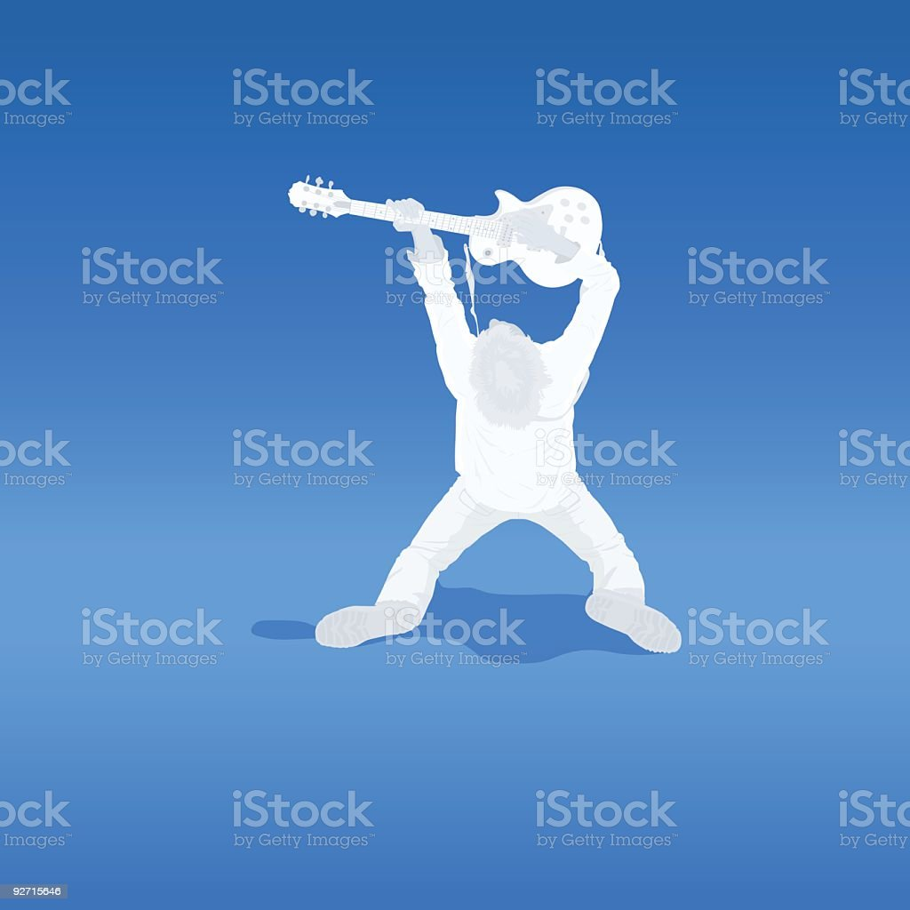 Gods of Music vector art illustration