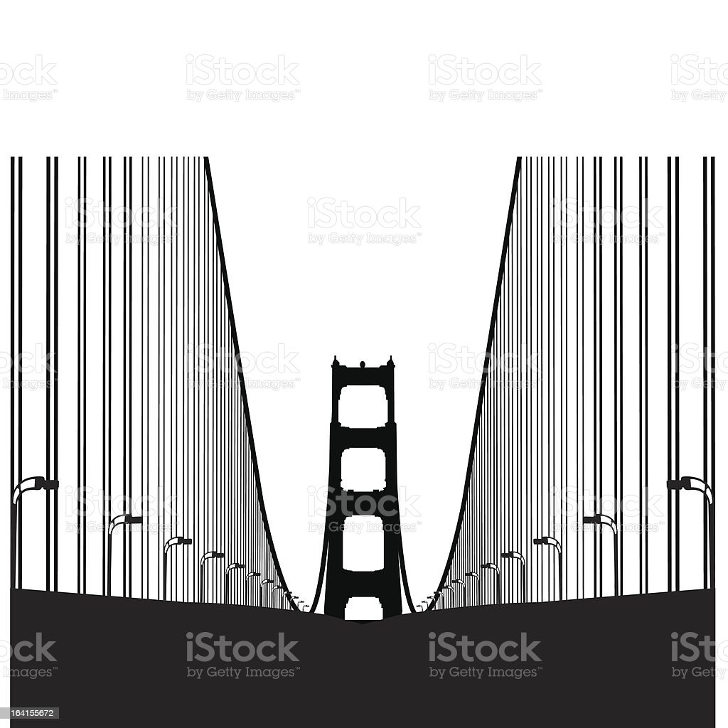 Going into SF royalty-free stock vector art