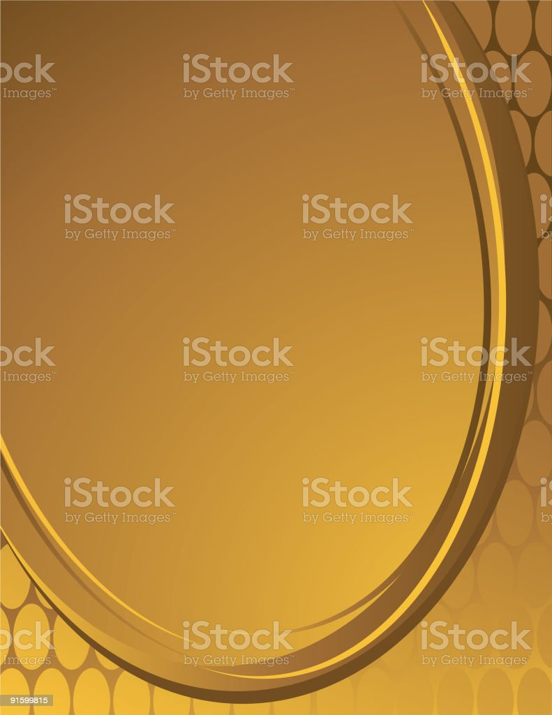 Gold Background Image royalty-free stock vector art