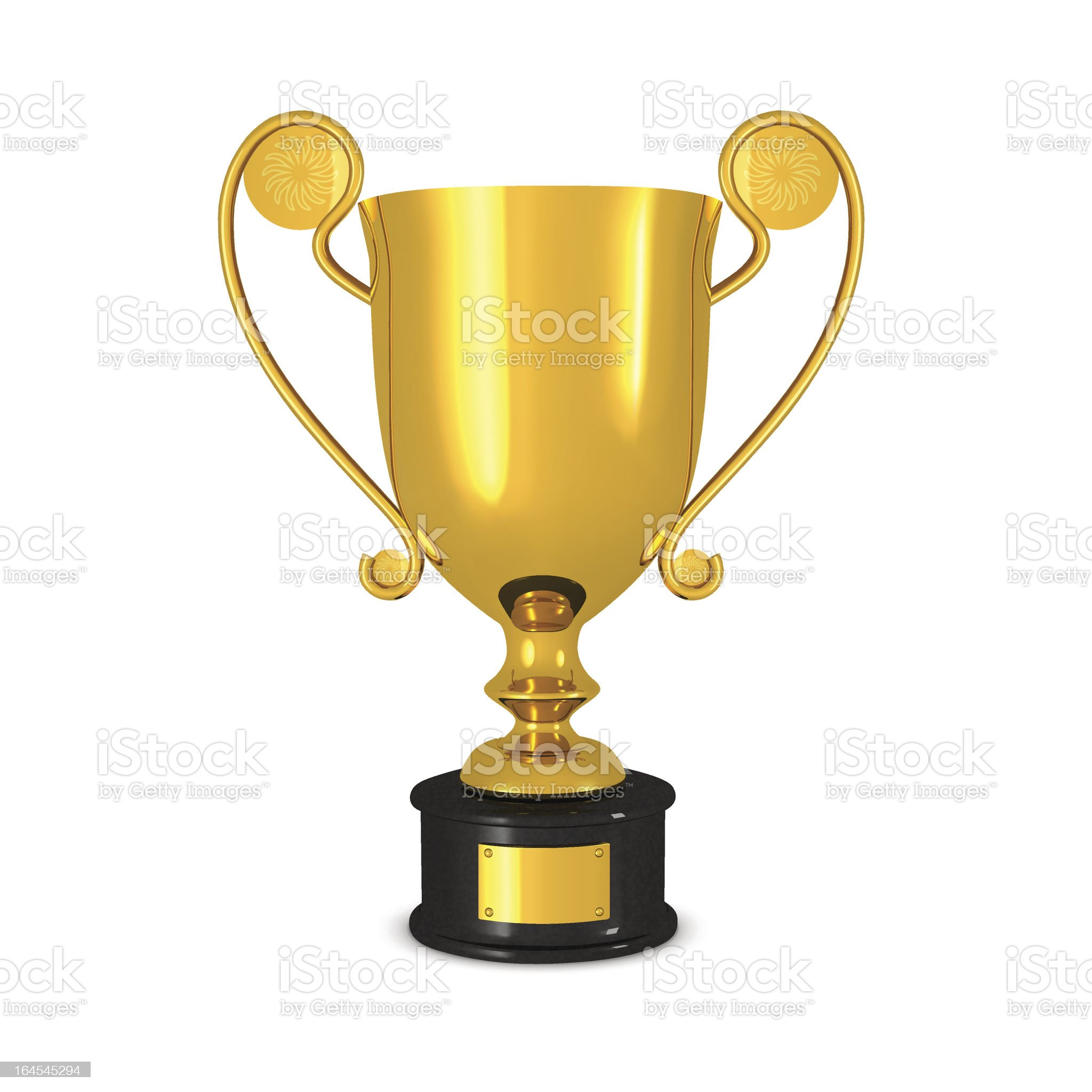 Gold Cup royalty-free stock vector art