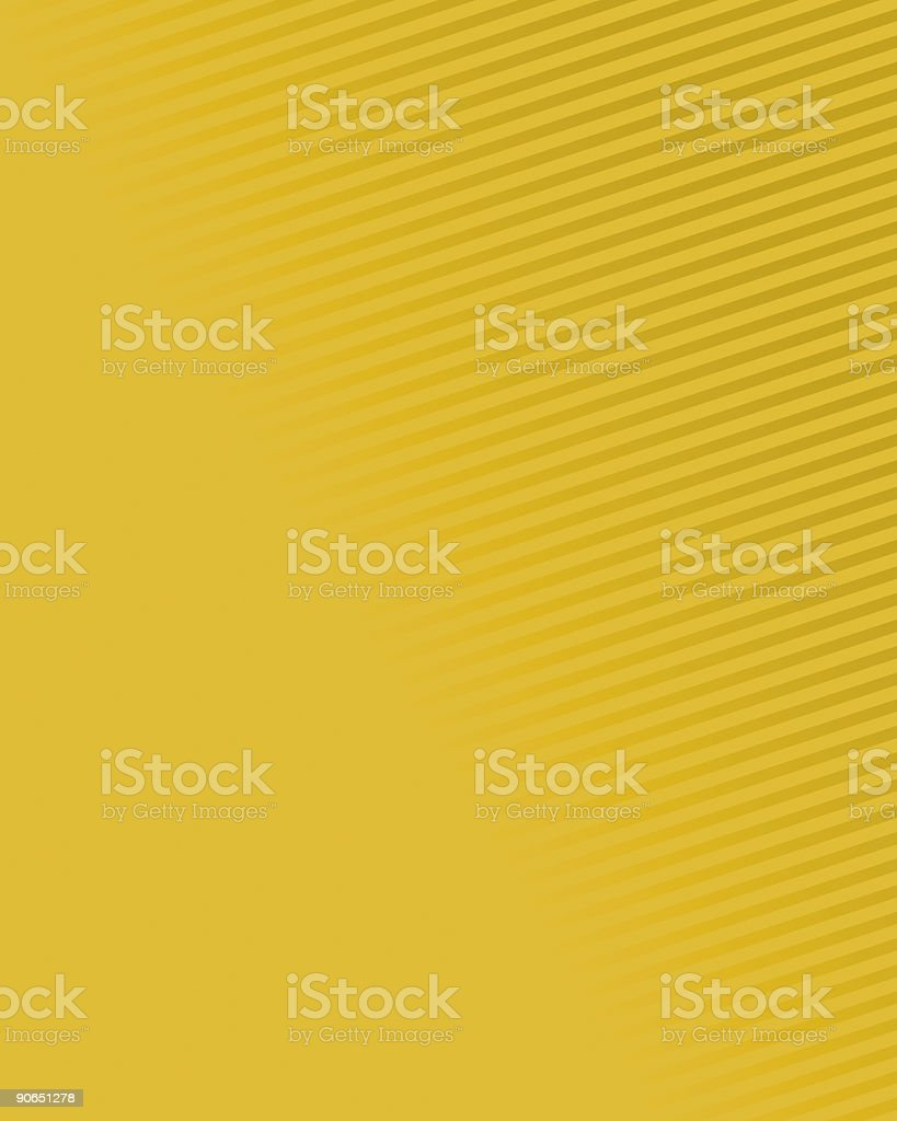 Gold Fading Lines royalty-free stock vector art