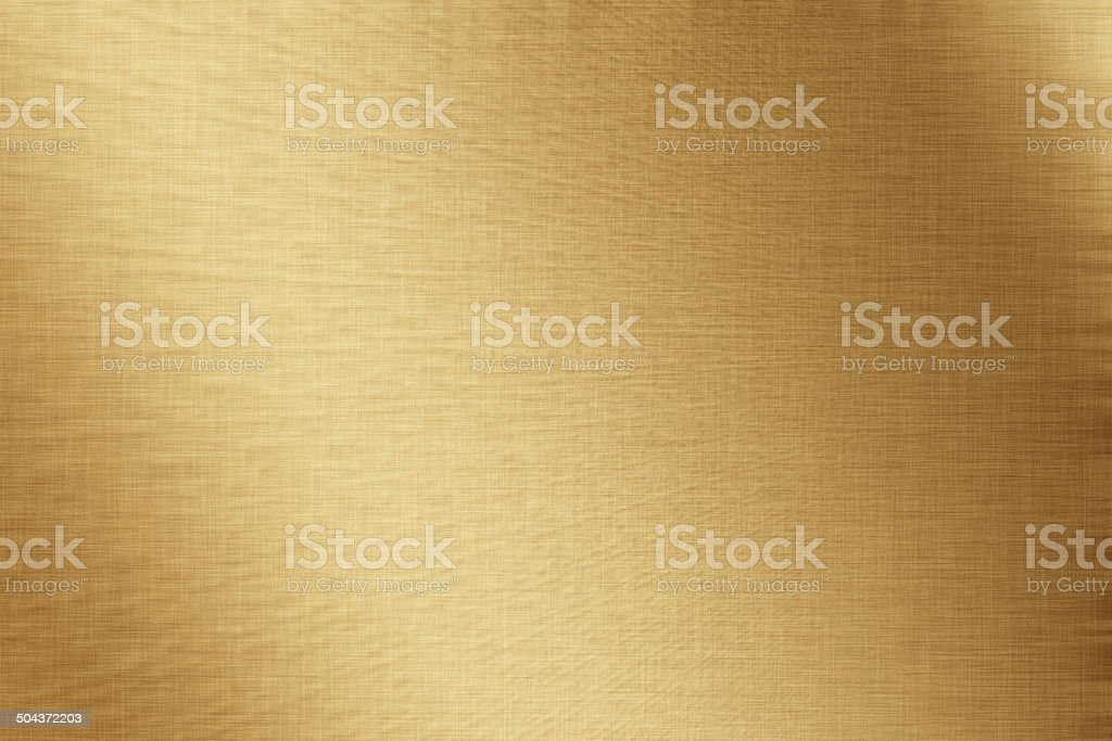 Gold glow background, linen texture, bright festive background vector art illustration