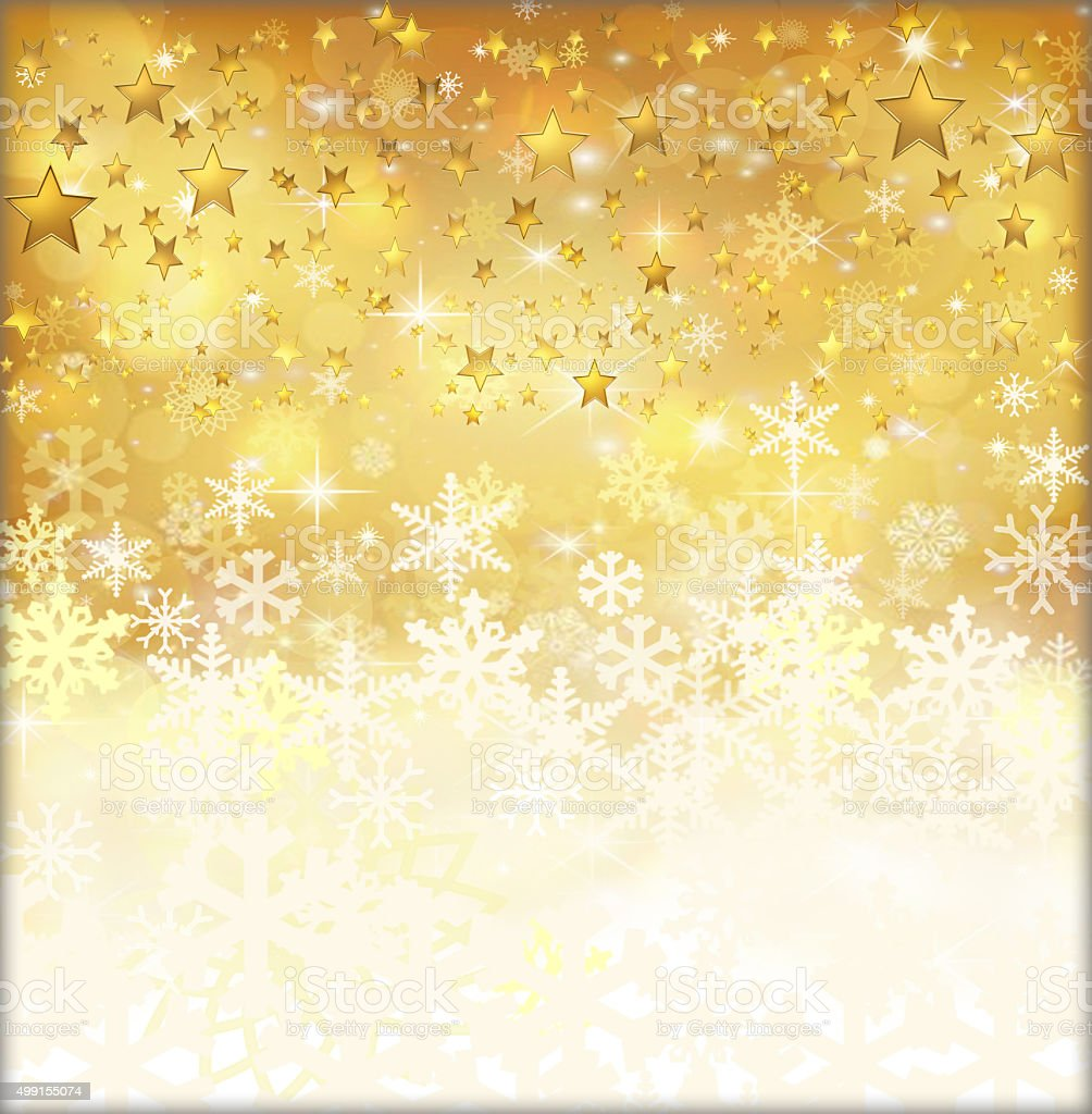Gold  holiday background vector art illustration