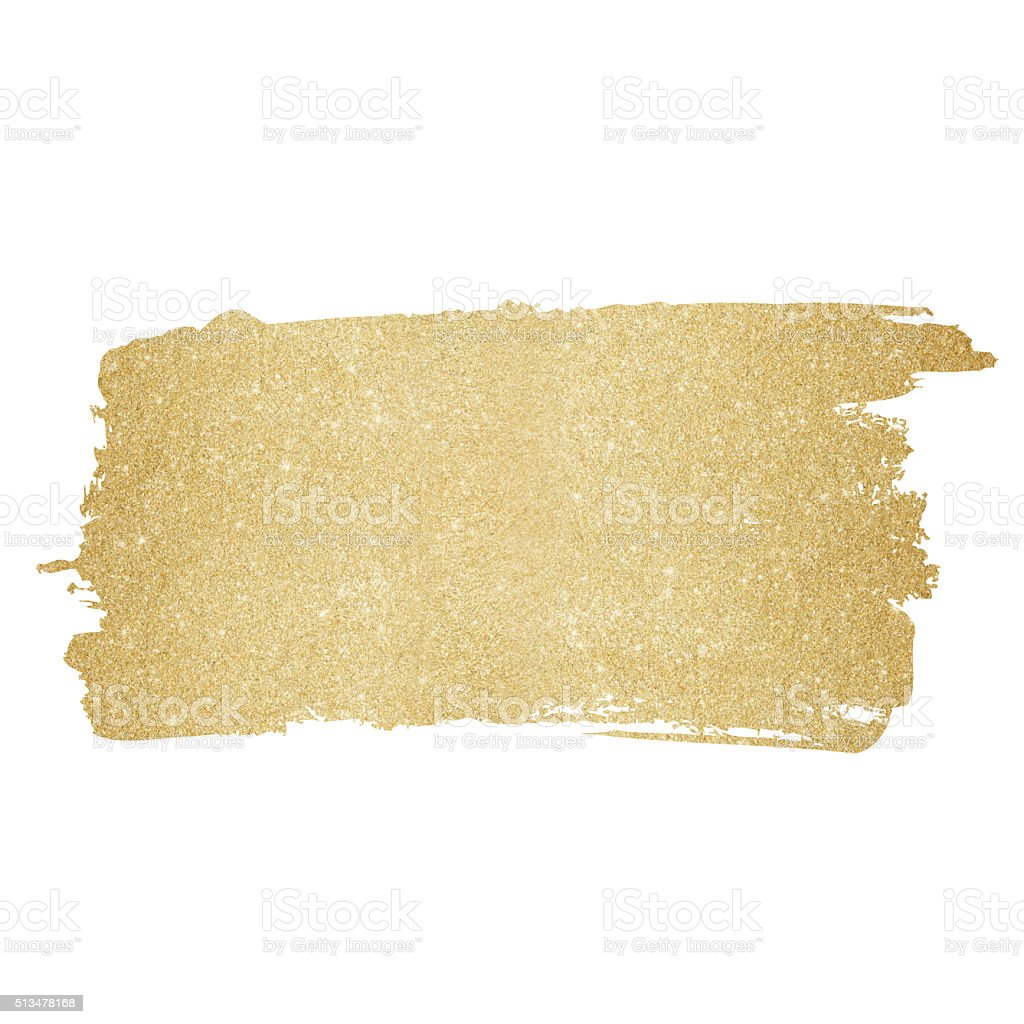 Gold painted background vector art illustration