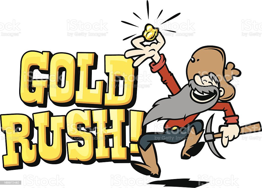 Image result for gold rush clip art