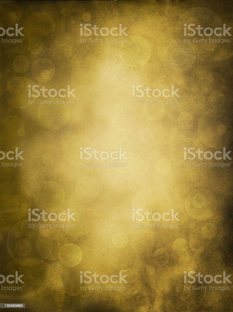 Golden Bokeh Glow vector art illustration