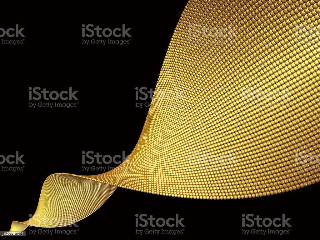 Golden Helix royalty-free stock vector art