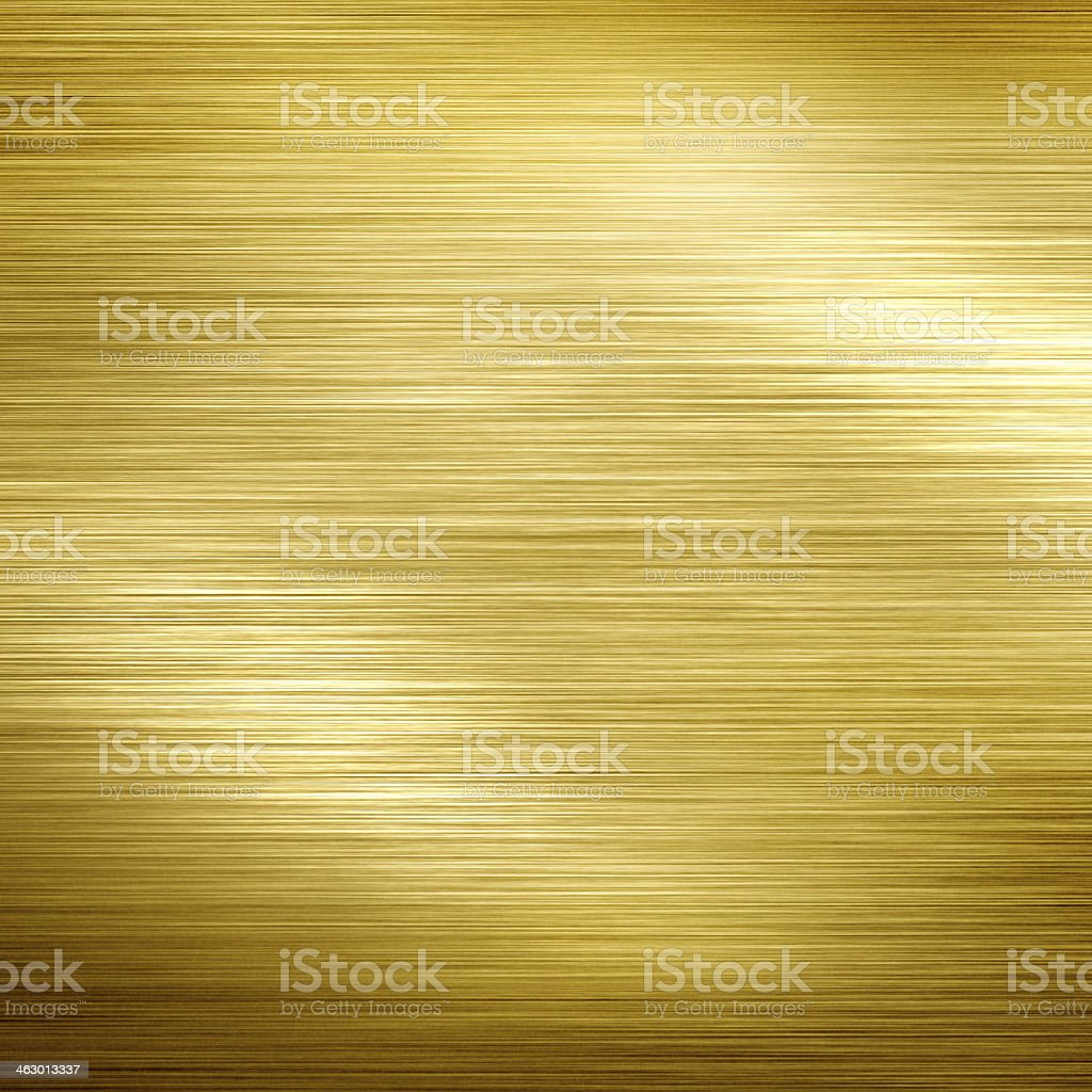 Golden metal vector art illustration