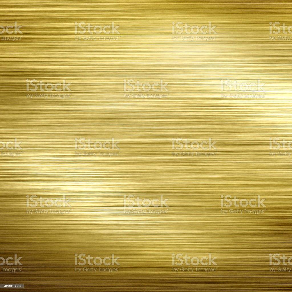 Golden metal vector art illustration